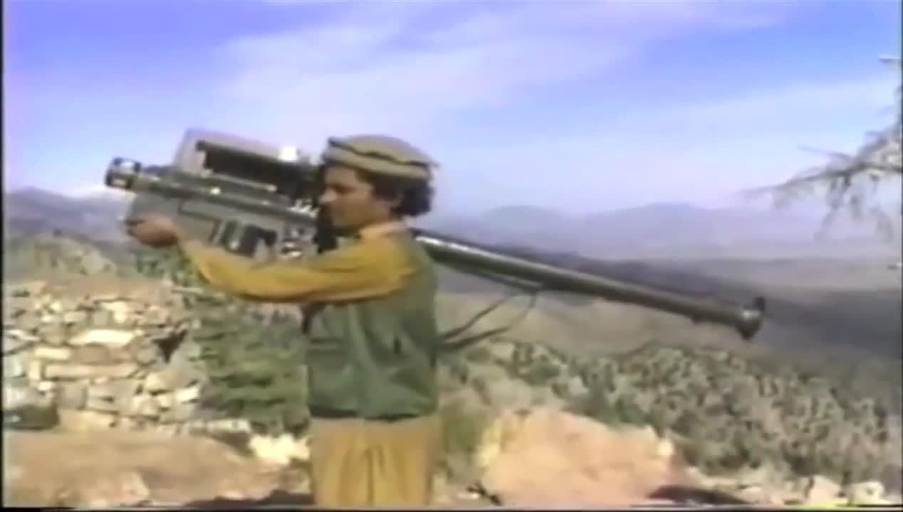 combatfootage, Afghan rebels fire Stinger missiles (1980s) GIFs