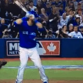 Watch and share Jose, Bautista, Toronto, Blue Jays, Alds GIFs on Gfycat