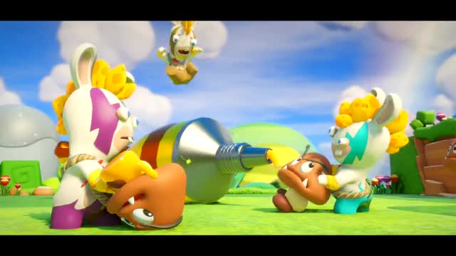 Watch and share Mario + Rabbids E3 GIFs by Mr. Panda on Gfycat