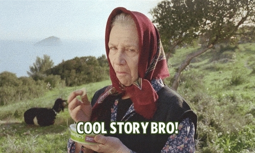 cool bro, cool story, cool story bro, oh, that's great! cool story bro! GIFs