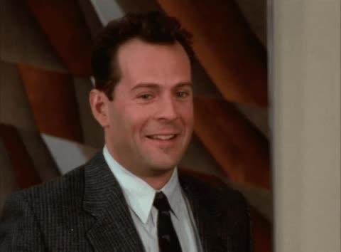 Bruce Willis, Moonlighting, Moonlighting - Ridiculing laugh GIFs