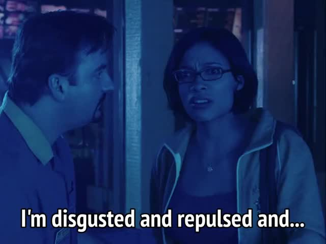 Watch and share Rosario Dawson GIFs and Disgusting GIFs by MikeyMo on Gfycat