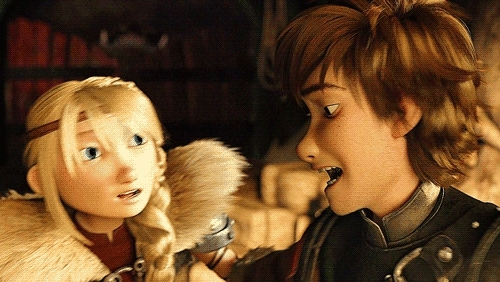 )*, anyway, fishlout, hiccstrid, httyd 2, httyd gif, httydedit, i just had to make this, i'm sorry if i forgot other cheek kisses (i dont think there are more?=, just spreading the love around, mine, race to the edge, rtte spoilers, HTTYD-verse + cheek kisses GIFs