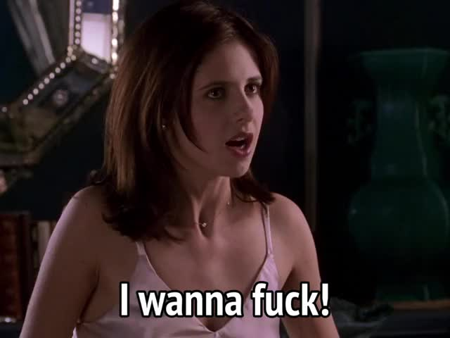 Watch and share Sarah Michelle Gellar GIFs and Horny GIFs by MikeyMo on Gfycat