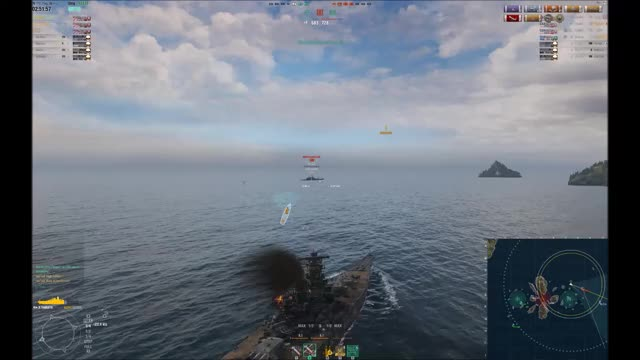Watch NOTHING CAN HURT MIGHTY YAMATO! GIF by @stridor on Gfycat. Discover more world of warships, worldofwarships, yamato GIFs on Gfycat
