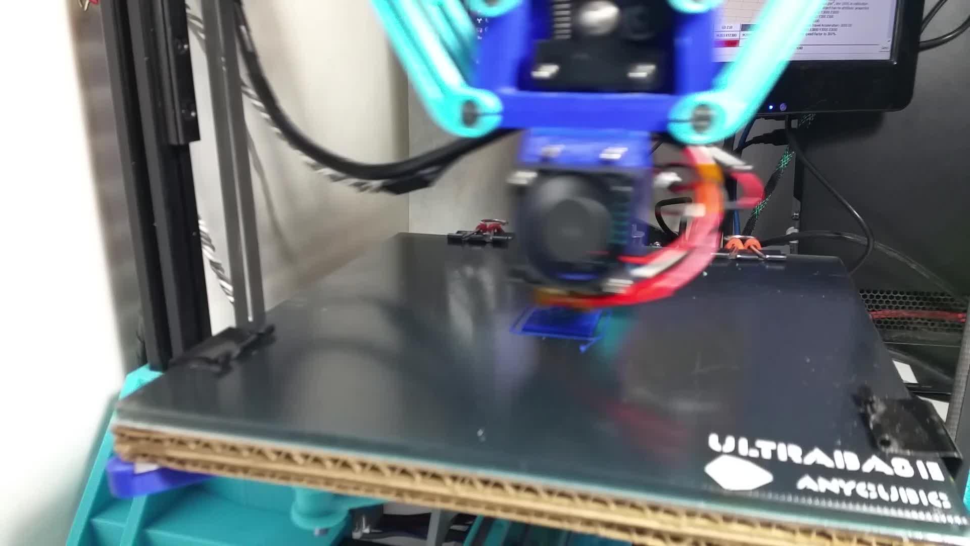 3D Printer, 3D Printing, 3DPrinter, 3DPrinting, Deltesian, Direct Drive Aussie Effector GIFs