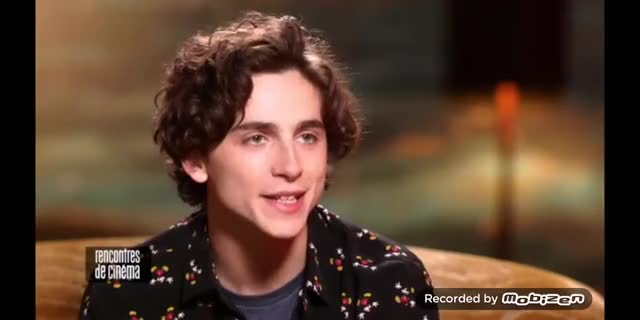 Watch and share CANAL+ BB Interview With Timothée Chalamet GIFs on Gfycat