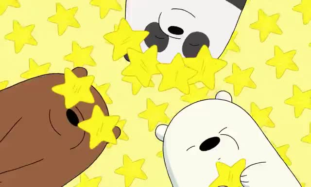 Watch this bear GIF by GIF Queen (@ioanna) on Gfycat. Discover more amazing, awesome, bare, bears, best, bff, cartoon, celebrate, excited, friends, go, happy, network, school, star, stars, tada, we, yay, yeah GIFs on Gfycat