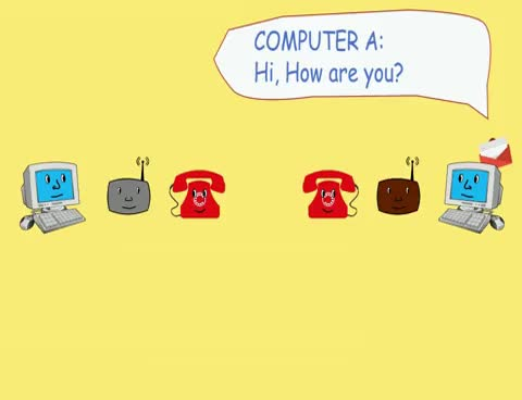 Watch and share How A MODEM Works - Animation GIFs on Gfycat