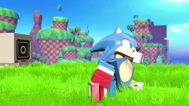 Watch LEGO Dimensions - Sonic Debut Trailer GIF on Gfycat. Discover more lego, sonic, sonic the hedgehog GIFs on Gfycat