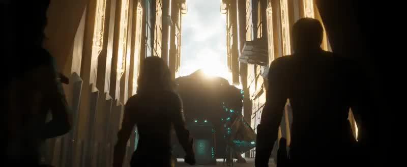 brie larson, captain marvel, carol danvers, celebs, marvel, marvel cinematic universe, marvel studios, mcu, Captain Marvel (Trailer 1) - Part K GIFs