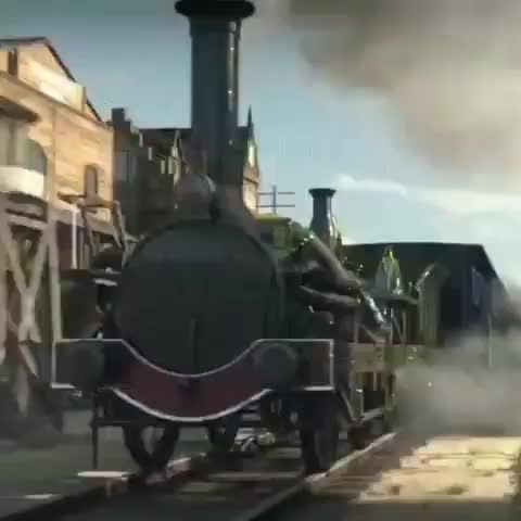 The history of trains in one animation! 🚅 GIFs