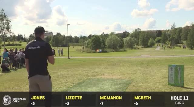 Watch and share 2019 European Open Round 1 Simon Lizotte Hole 11 Drive GIFs by Benn Wineka UWDG on Gfycat