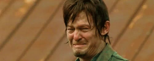 crying, daryl dixon, emotional, feels, norman reedus, sad, the walking dead, Daryl Dixon Crying GIFs