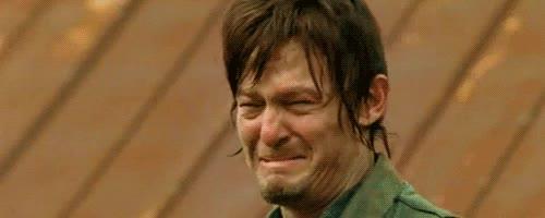 crying, daryl dixon, emotional, feels, norman reedus, sad, the walking dead, Daryl Dixon Crying GIFs