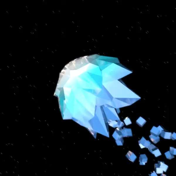 картинки кристаллов анимация клетки