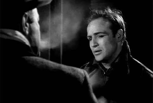 Watch and share Marlons Face Though GIFs and On The Waterfront GIFs on Gfycat