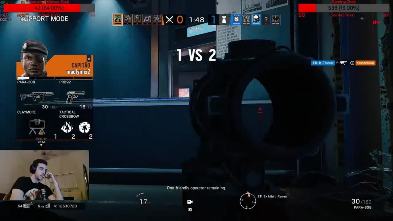 Hacking, LOL, Siege, Guy Reported Me on His Siege Stream LOL GIFs