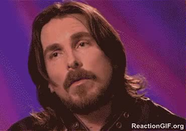 Watch and share Christian Bale Confused Disturbed Incredulous Perplexed Wait What Confused Wrong GIFs on Gfycat