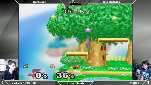 Watch Zenith 2013 - Mango vs VGBC Dr PeePee - Losers Semis - SSBM GIF on Gfycat. Discover more smashgifs, ssbm, super smash bros. melee GIFs on Gfycat