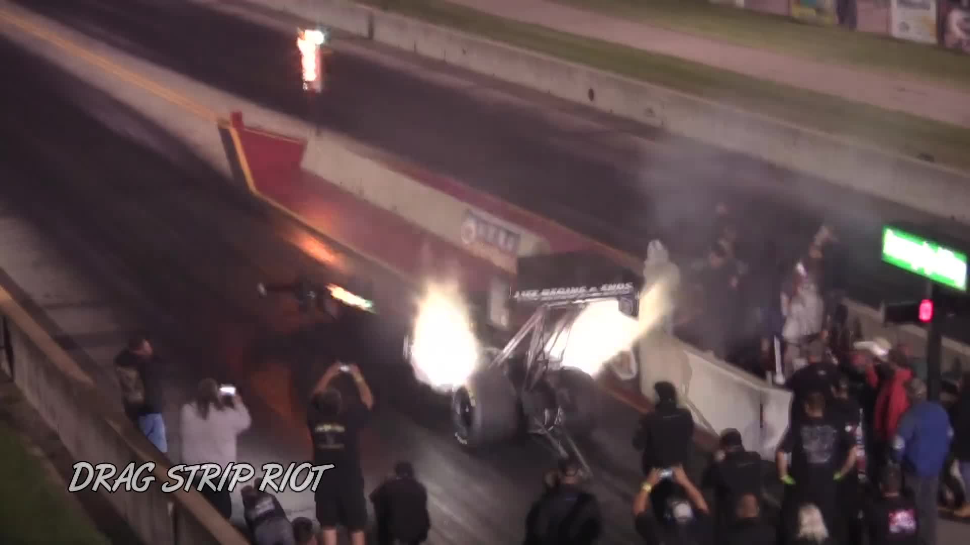 2017 Top Fuel Dragster Drag Racing Worlds Fastest