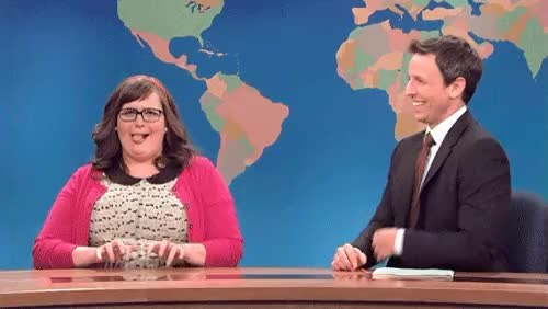 Watch Lil Baby Aidy! Love her. they call me the stray they call me GIF on Gfycat. Discover more Aidy Bryant, Seth Meyers, celeb crush, comedians, funny ladies, saturday night live, snl GIFs on Gfycat