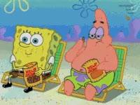 Watch and share Birthday, Happy Birthday, Spongebob, Spongebob Squarepants, Squidward GIFs on Gfycat