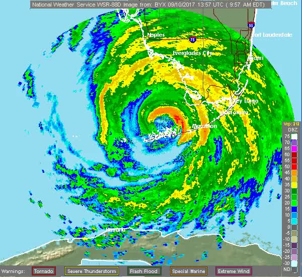 Watch and share Center Of Irma At Key West, Florida (2) GIFs by The Watchers on Gfycat