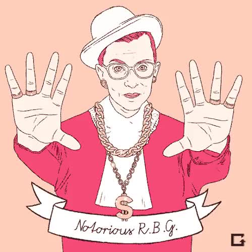 Watch and share Ruth Bader Ginsburg GIFs and Notorious Big GIFs on Gfycat