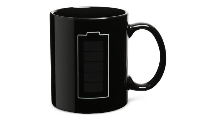 Watch animated battery coffee mug GIF on Gfycat. Discover more related GIFs on Gfycat