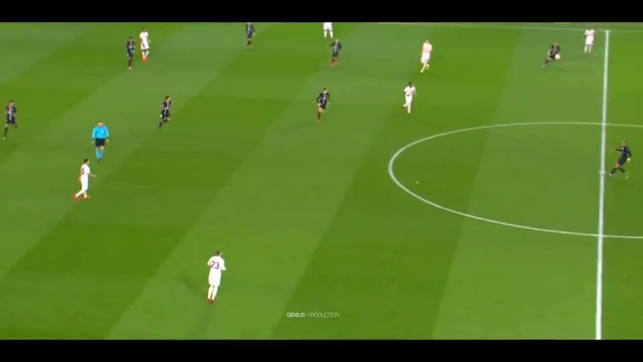 Kylian Mbappé Vs Manchester United HD 1080i 06 03 2019 GIF
