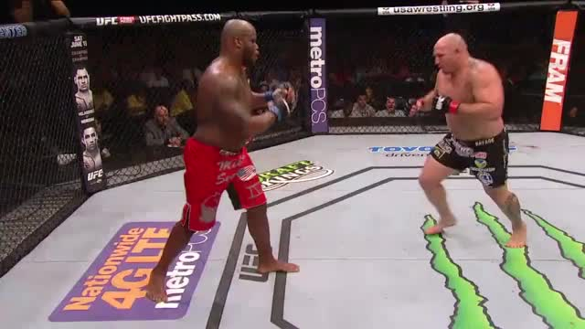 Watch Heavyweight Shawn Jordan delivers brutal hook kick on Derrick Lewis GIF by @djlasershark on Gfycat. Discover more Derrick Lewis, Heavyweight, Shawn Jordan, TKO, fight, fs1, knockout, leg kick, mma, ufc GIFs on Gfycat