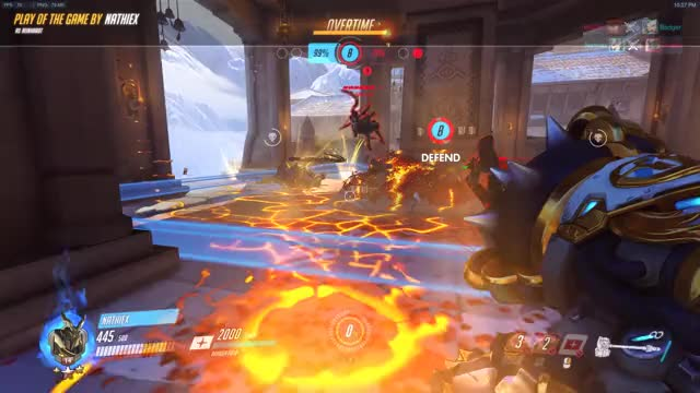 Watch and share Overwatch GIFs and Reinhardt GIFs by nathiex on Gfycat