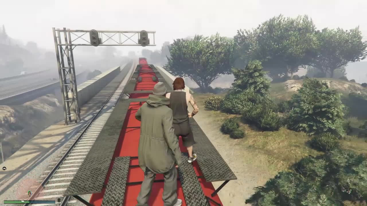 gtaonline, Boss Wanted Me Off The Train GIFs