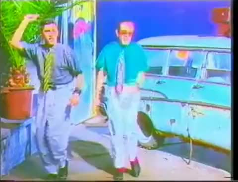 Watch and share Righeira Vamos A La Playa 1983 GIFs on Gfycat