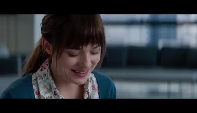 Watch and share Fifty Shades Of Grey Official Trailer #1 (2015) - Jamie Dornan, Dakota Johnson Movie HD GIFs on Gfycat