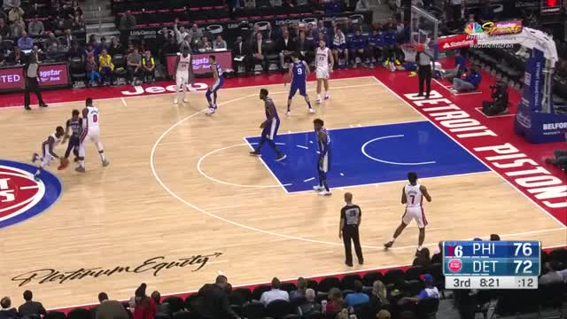 Watch blake corner GIF by Mike Snyder (@m_james_snyder) on Gfycat. Discover more Detroit Pistons, Griffin, basketball GIFs on Gfycat