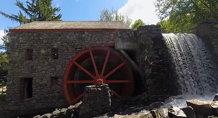 Grist Mill Cinemagraphs GIFs