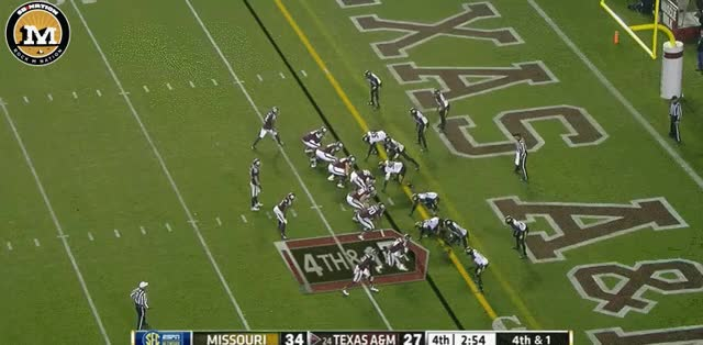 Watch and share 4th Down Stop My Mizzou GIFs by rockmnation on Gfycat