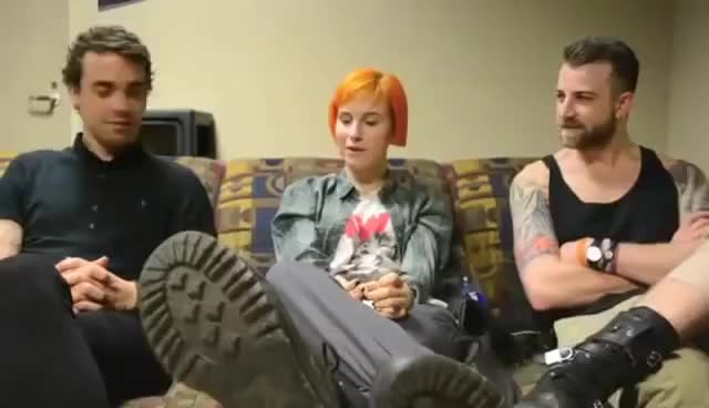 Watch Paramore GIF on Gfycat. Discover more interview, paramore GIFs on Gfycat