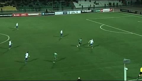 Watch and share Moussa Konate. Dinamo Moskva - Krasnodar. 2012-13 GIFs by fatalali on Gfycat