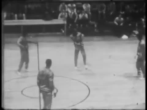 Watch Harlem Globetrotters routine - 1950s - basketball GIF by @rufusjonz on Gfycat. Discover more Basketball, Vintage, vintagesports GIFs on Gfycat