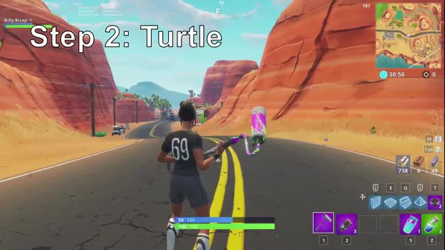 Watch Turtle GIF on Gfycat. Discover more Billy Bicep, Gaming, fortnite, how to build, tutorial GIFs on Gfycat