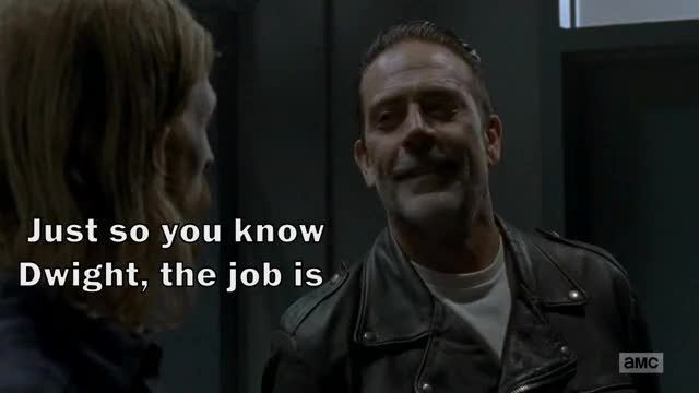 Watch and share Assistant To The Regional Negan GIFs by nyradb on Gfycat
