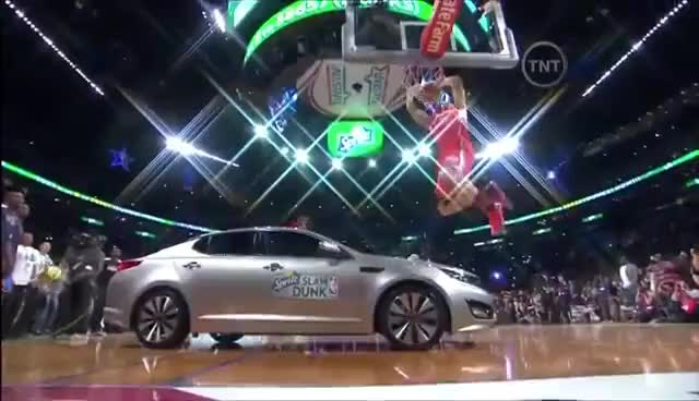 Watch Blake Griffin Dunks Over Car Gif On Gfycat Discover More