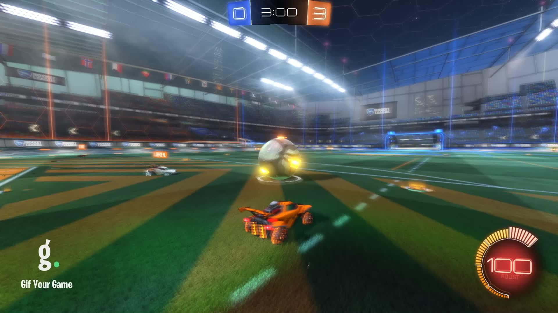 Gif Your Game, GifYourGame, Rocket League, RocketLeague, Shot, tziortas, Shot 8: Loefoe NL GIFs