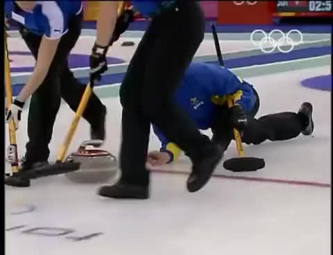 With curling olyympics pantyhose for