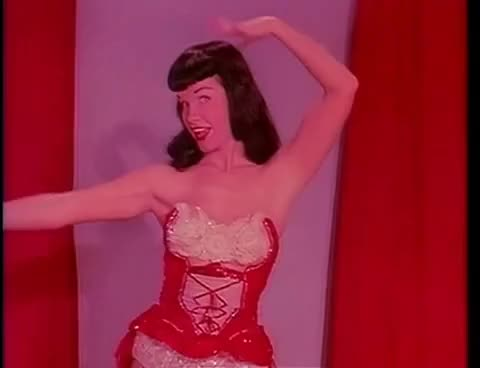 Watch BettiePage-TempestStorm1-1950s GIF on Gfycat. Discover more bettie, betty, irving, klaw, page, pin, pinup GIFs on Gfycat