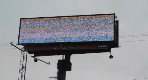 Watch and share Billboard Glitch GIFs on Gfycat