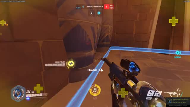 """Watch 2017-06-06 """"bitch ana"""" GIF by @giphysucks on Gfycat. Discover more ana, overwatch GIFs on Gfycat"""